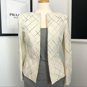 Off White Tweed Blazer